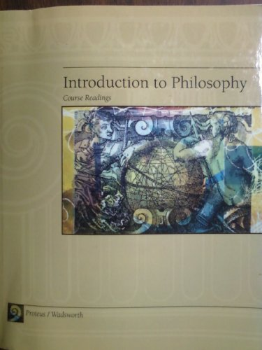 9780495467427: Introduction to Philosophy - Course Readings