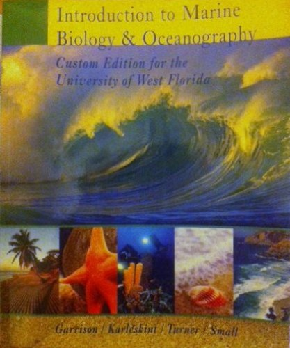 9780495484875: Introduction to Marine Biology & Oceanography (Custom Edition for the University of West Florida)