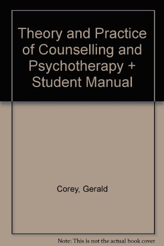 9780495487289: Theory and Practice of Counselling and Psychotherapy + Student Manual