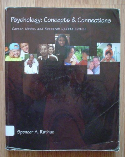 Psychology: Concepts and Connections. Career, Media and: Spencer A. Rathus