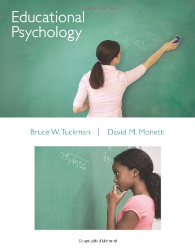 Educational Psychology (Available Titles CourseMate): Tuckman, Bruce; Monetti,