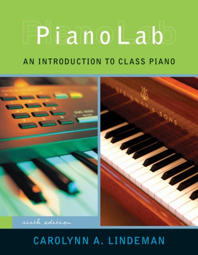 9780495500490: PianoLab: An Introduction to Class Piano (with Keyboard for Piano & Guitar)
