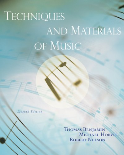 9780495500544: Techniques and Materials of Music: From the Common Practice Period Through the Twentieth Century