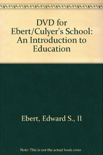 9780495500995: School: An Introduction to Education