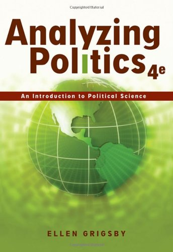 9780495501121: Analyzing Politics: An Introduction to Political Science