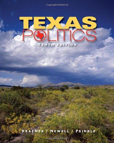 9780495501138: Texas Politics