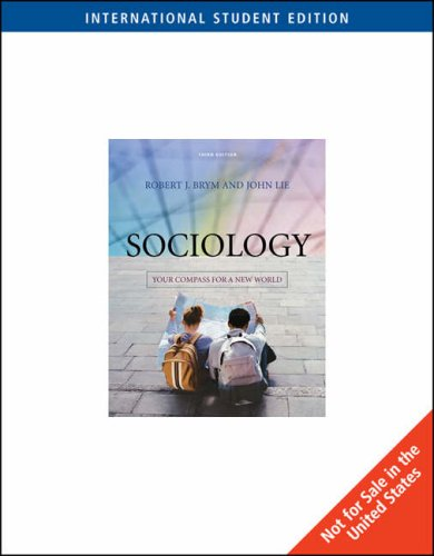 9780495501268: Sociology: Your Compass for a New World, International Edition