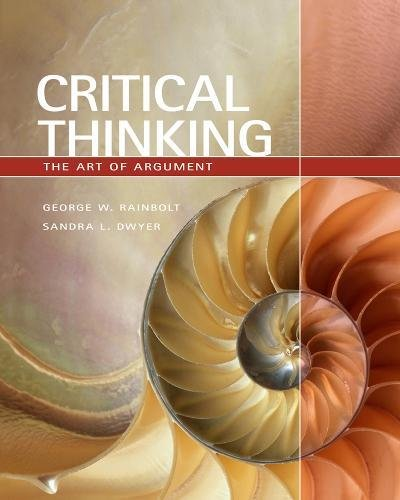 9780495501572: Critical Thinking: The Art of Argument (Available Titles Aplia)
