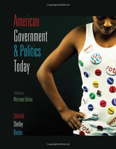 9780495502289: American Government and Politics Today 2009-2010 Edition (American Government & Politics Today)