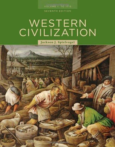 9780495502869: Western Civilization: Volume I: To 1715 (Western Civilization to 1715)