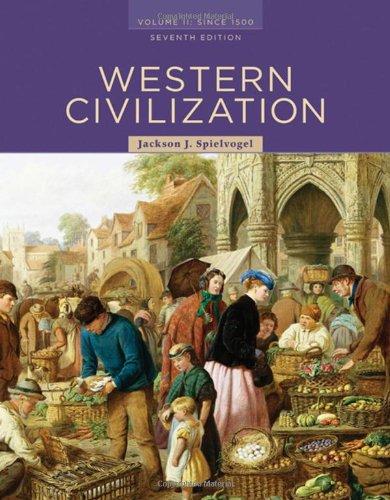 9780495502876: 2: Western Civilization: Volume II: Since 1500