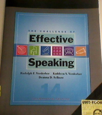 9780495503484: The Challenge of Effective Speaking