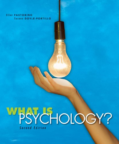 9780495504115: What is Psychology?