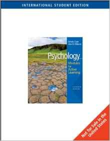 9780495504146: Psychology: Modules for Active Learning (Instructor's Edition) Edition: Eleventh