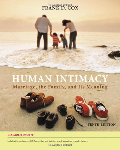 9780495504337: Human Intimacy: Marriage, the Family, and Its Meaning, Research Update