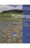 9780495504962: Psychology: Modules for Active Learning with Concept Modules with Note-Taking and Practice Exams