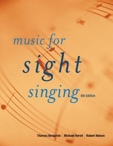 9780495505006: Music for Sight Singing