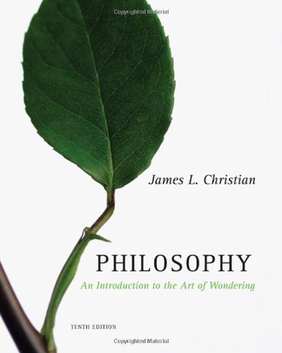 9780495505044: Philosophy: An Introduction to the Art of Wondering