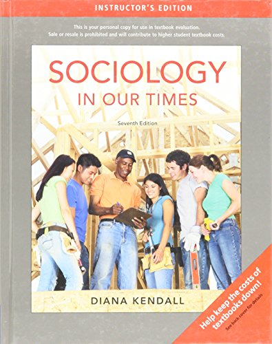 9780495505280: Sociology in Our Times 7TH EDITION