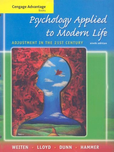 9780495505358: Cengage Advantage Books: Psychology Applied to Modern Life: Adjustment in the 21st Century