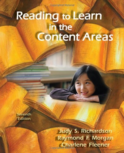 9780495506065: Reading to Learn in the Content Areas