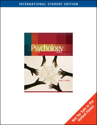 9780495506140: Psychology, International Edition