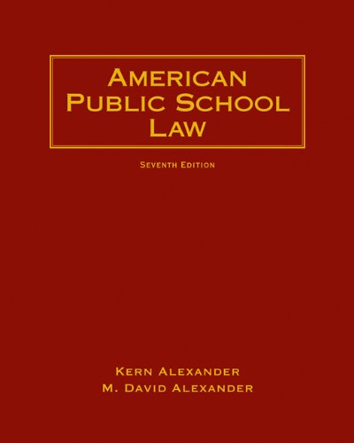 9780495506195: American Public School Law