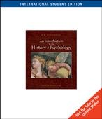 9780495506232: An Introduction to the History of Psychology