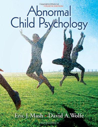9780495506270: Abnormal Child Psychology
