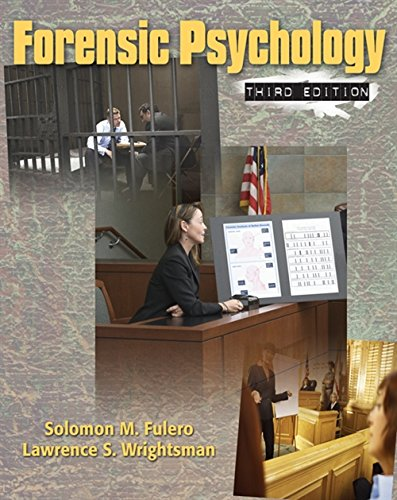 9780495506492: Forensic Psychology