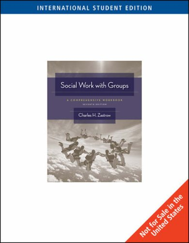 Social Work with Groups: A Comprehensive Workbook (0495506532) by M K MCCULLOUGH & PETER J ELY