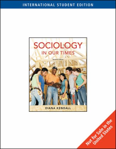9780495506638: Sociology in Our Times, International Edition