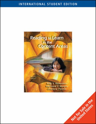 9780495506744: Reading to Learn in the Content Areas, International Edition