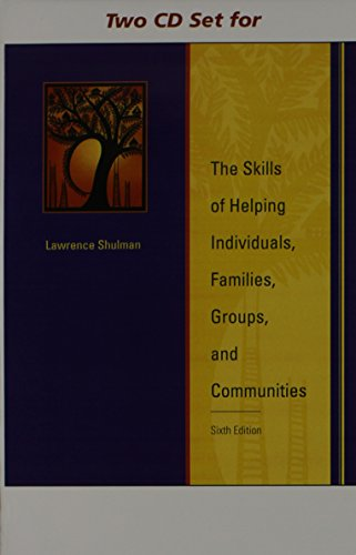 9780495507123: 2 CD Set for Shulman's The Skills of Helping Individuals, Families, Groups, and Communities, 6th