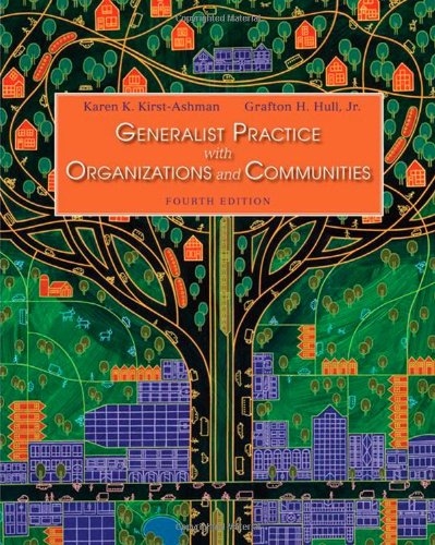 9780495507154: Generalist Practice with Organizations and Communities