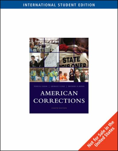 9780495507253: American Corrections