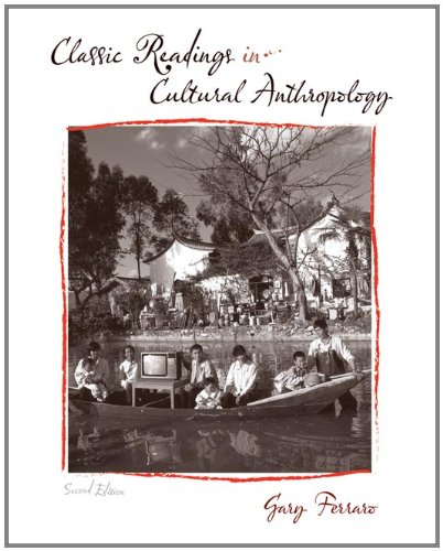 9780495507369: Classic Readings in Cultural Anthropology