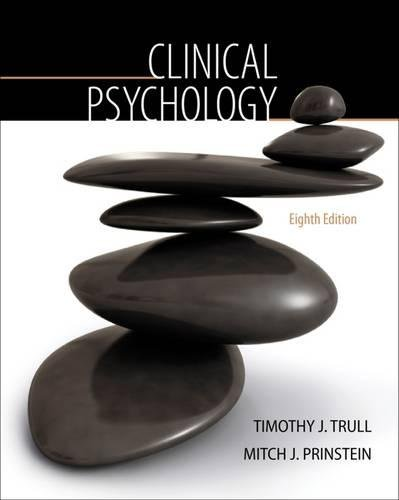 9780495508229: Clinical Psychology (PSY 334 Introduction to Clinical Psychology)