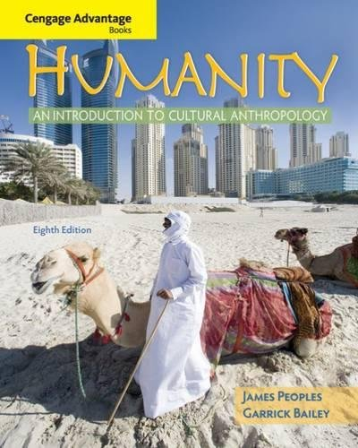 9780495508748: Humanity: An Introduction to Cultural Anthropology