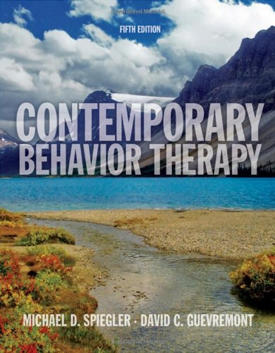9780495509066: Contemporary Behavior Therapy