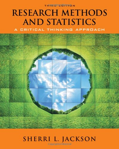9780495510017: Research Methods and Statistics: A Critical Thinking Approach