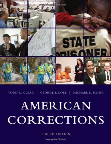 American Corrections: Clear, Todd R.