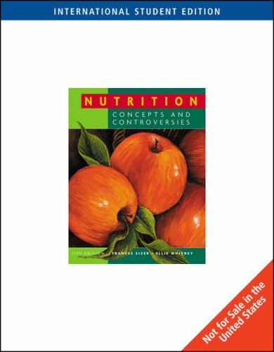9780495553281: Nutrition: Concepts and Controversies