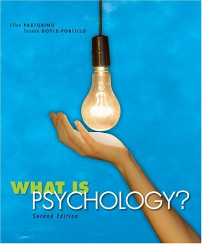 9780495553373: What is Psychology?