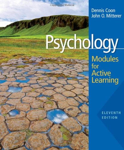 9780495553380: Psychology: Modules for Active Learning