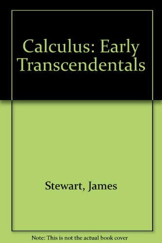 9780495553809: Calculus: Early Transcendentals