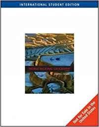 9780495553946: World Regional Geography, International Edition