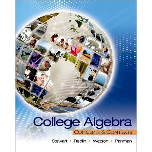 9780495553953: College Algebra: Concepts and Contexts, IE