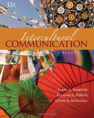 9780495554189: Intercultural Communication: A Reader