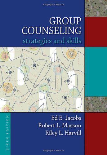 9780495554363: Group Counseling: Strategies and Skills